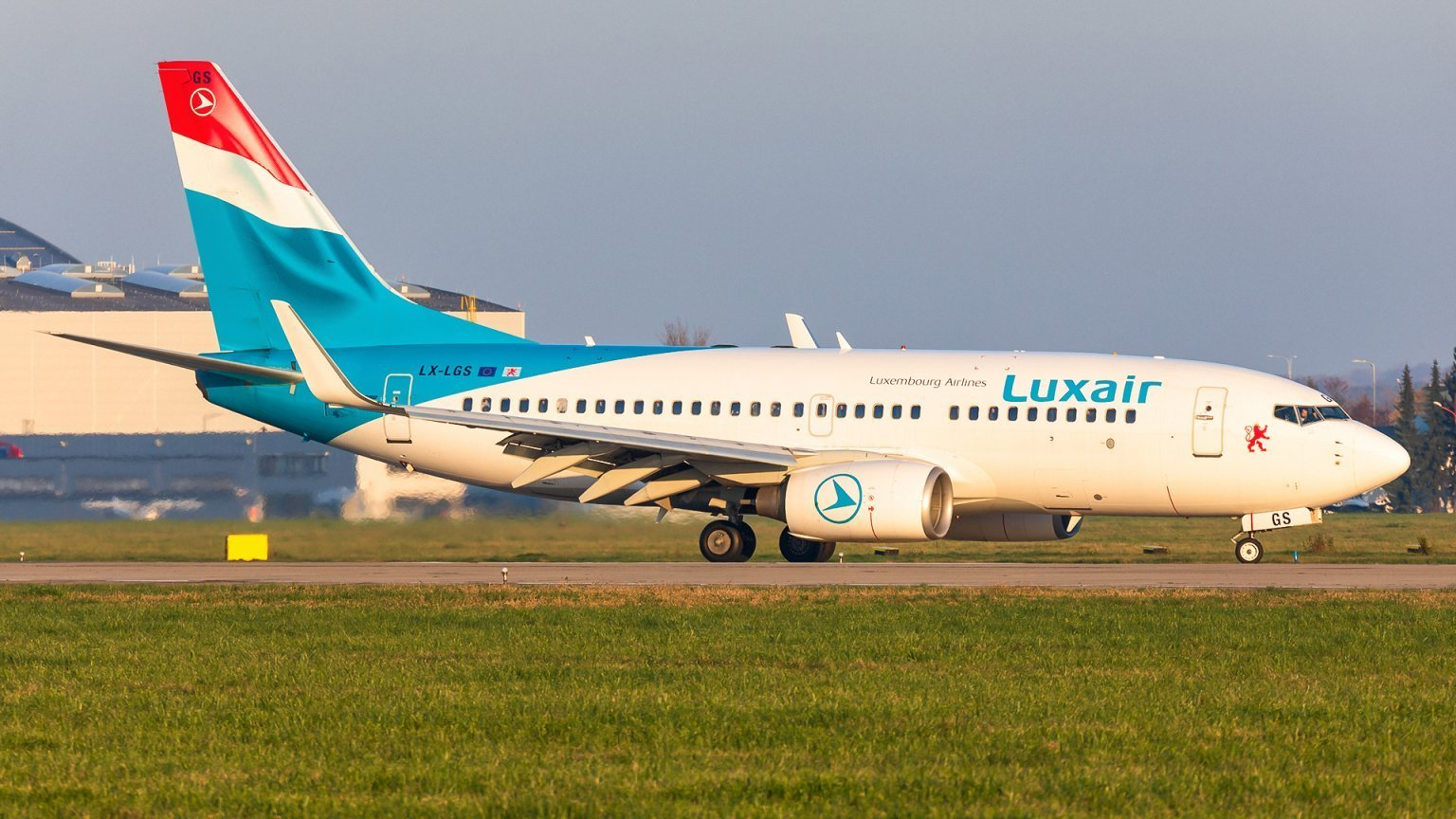 JOB AIR Technic welcomed the new customer - LUXAIR